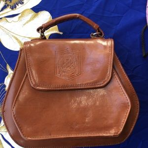 Handbags - Vintage Moda Italians Brown Handbag